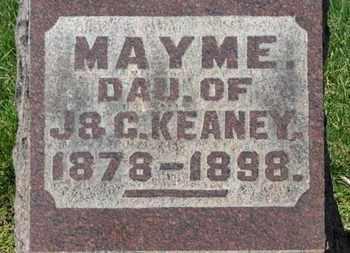 KEANEY, MAYME - Erie County, Ohio | MAYME KEANEY - Ohio Gravestone Photos
