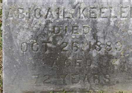 KEELER, ABIGAIL - Erie County, Ohio | ABIGAIL KEELER - Ohio Gravestone Photos