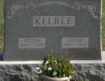 KELBLE, JOSEPH - Erie County, Ohio | JOSEPH KELBLE - Ohio Gravestone Photos