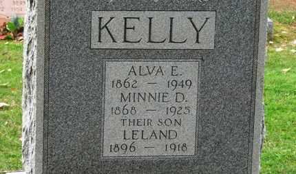 KELLY, MINNIE D. - Erie County, Ohio | MINNIE D. KELLY - Ohio Gravestone Photos