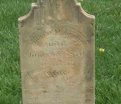 KEMP, MOSES P. - Erie County, Ohio   MOSES P. KEMP - Ohio Gravestone Photos
