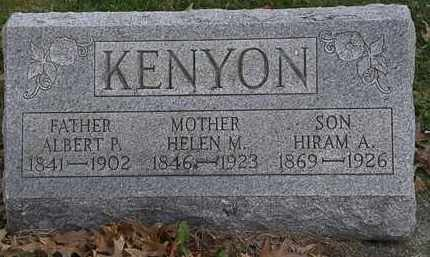 KENYON, HIRAM A. - Erie County, Ohio | HIRAM A. KENYON - Ohio Gravestone Photos