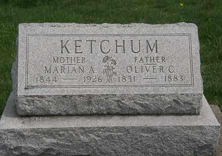 KETCHUM, MARIAN A. - Erie County, Ohio   MARIAN A. KETCHUM - Ohio Gravestone Photos