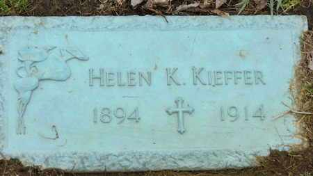 KIEFFER, HELEN K. - Erie County, Ohio | HELEN K. KIEFFER - Ohio Gravestone Photos