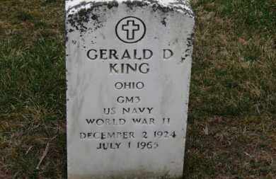 KING, GERALD D. - Erie County, Ohio   GERALD D. KING - Ohio Gravestone Photos