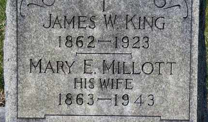 MILLOT KING, MARY E. - Erie County, Ohio | MARY E. MILLOT KING - Ohio Gravestone Photos