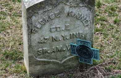 KINNEY, GEORGE - Erie County, Ohio   GEORGE KINNEY - Ohio Gravestone Photos