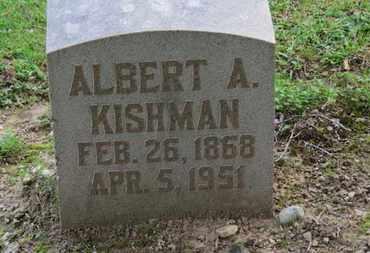 KISHMAN, ALBERT A. - Erie County, Ohio | ALBERT A. KISHMAN - Ohio Gravestone Photos
