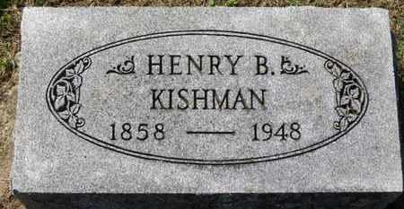 KISHMAN, HENRY B. - Erie County, Ohio   HENRY B. KISHMAN - Ohio Gravestone Photos