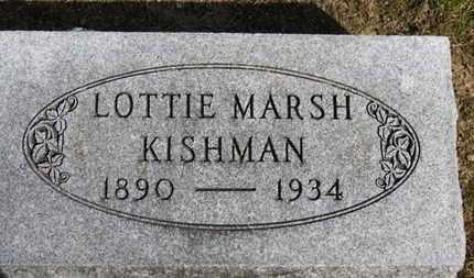 KISHMAN, LOTTIE - Erie County, Ohio | LOTTIE KISHMAN - Ohio Gravestone Photos