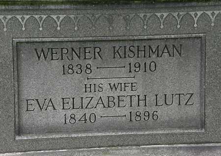KISHMAN, WERNER - Erie County, Ohio | WERNER KISHMAN - Ohio Gravestone Photos