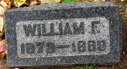 KISHMAN, WILLIAM F. - Erie County, Ohio | WILLIAM F. KISHMAN - Ohio Gravestone Photos