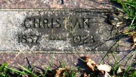 KLEIN, CHRISTIAN - Erie County, Ohio   CHRISTIAN KLEIN - Ohio Gravestone Photos