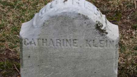 KLEIN, CATHATINE - Erie County, Ohio | CATHATINE KLEIN - Ohio Gravestone Photos
