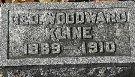 KLINE, GEO. WOODWARD - Erie County, Ohio | GEO. WOODWARD KLINE - Ohio Gravestone Photos