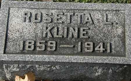 KLINE, ROSETTA L. - Erie County, Ohio | ROSETTA L. KLINE - Ohio Gravestone Photos