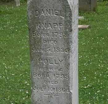 KNAPP, POLLY - Erie County, Ohio   POLLY KNAPP - Ohio Gravestone Photos