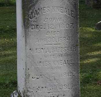 KNEALE, JAMES - Erie County, Ohio   JAMES KNEALE - Ohio Gravestone Photos