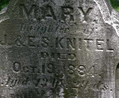 KNITEL, J. - Erie County, Ohio | J. KNITEL - Ohio Gravestone Photos