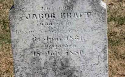 KRAFT, JACOB - Erie County, Ohio   JACOB KRAFT - Ohio Gravestone Photos