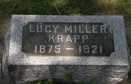 KRAPP, LUCY - Erie County, Ohio   LUCY KRAPP - Ohio Gravestone Photos