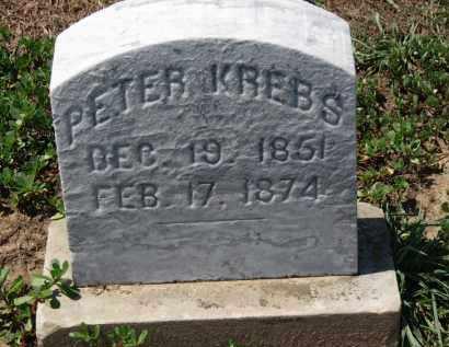 KREBS, PETER - Erie County, Ohio | PETER KREBS - Ohio Gravestone Photos