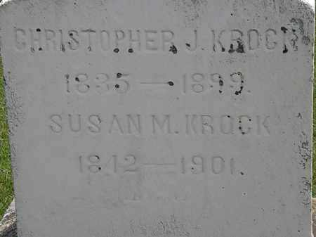 KROCK, SUSAN M. - Erie County, Ohio | SUSAN M. KROCK - Ohio Gravestone Photos
