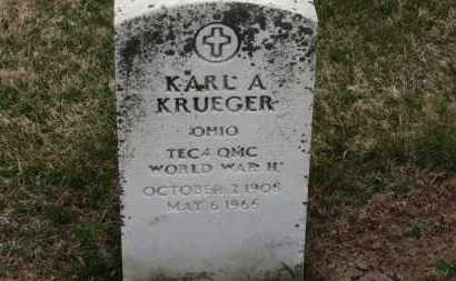 KRUEGER, KARL A. - Erie County, Ohio | KARL A. KRUEGER - Ohio Gravestone Photos