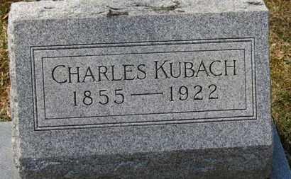 KUBACH, CHARLES - Erie County, Ohio   CHARLES KUBACH - Ohio Gravestone Photos