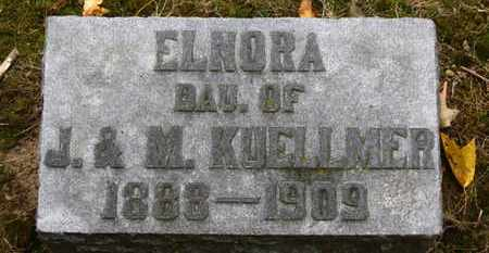 KUELLMER, ELNORA - Erie County, Ohio | ELNORA KUELLMER - Ohio Gravestone Photos