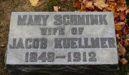 KUELLMER, MARY - Erie County, Ohio | MARY KUELLMER - Ohio Gravestone Photos