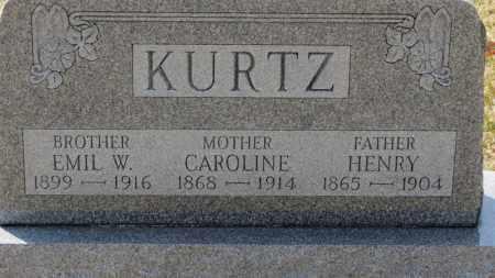 KURTZ, EMIL W. - Erie County, Ohio | EMIL W. KURTZ - Ohio Gravestone Photos