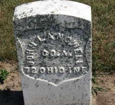 LANGWELL, JOHN - Erie County, Ohio | JOHN LANGWELL - Ohio Gravestone Photos