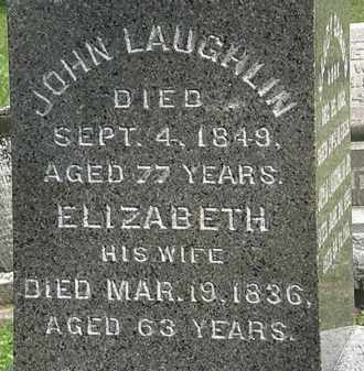 LAUGHLIN, ELIZABETH - Erie County, Ohio | ELIZABETH LAUGHLIN - Ohio Gravestone Photos