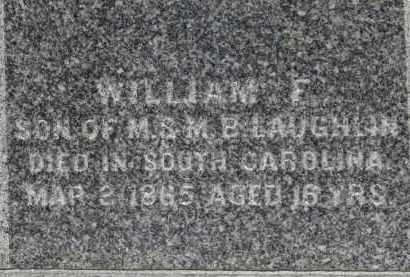 LAUGHLIN, WILLIAM F. - Erie County, Ohio | WILLIAM F. LAUGHLIN - Ohio Gravestone Photos