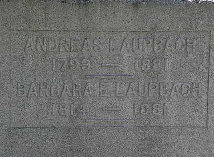 LAUPBACH, BARBARA E. - Erie County, Ohio   BARBARA E. LAUPBACH - Ohio Gravestone Photos