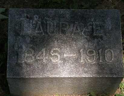 LAWLESS, LAURA E. - Erie County, Ohio | LAURA E. LAWLESS - Ohio Gravestone Photos