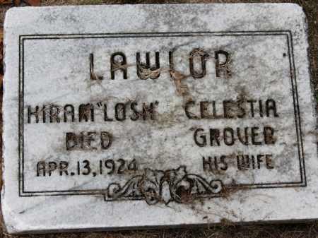 "LAWLOR, HIRAM  ""LOSH"" - Erie County, Ohio | HIRAM  ""LOSH"" LAWLOR - Ohio Gravestone Photos"