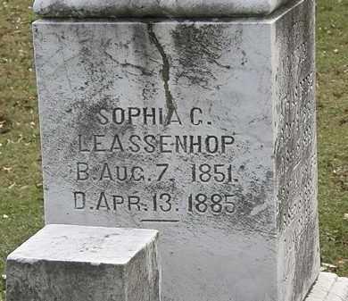 LEASSENHOP, SOPHIA C. - Erie County, Ohio | SOPHIA C. LEASSENHOP - Ohio Gravestone Photos