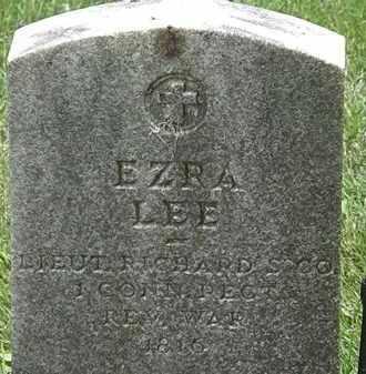 LEE, EZRA - Erie County, Ohio | EZRA LEE - Ohio Gravestone Photos