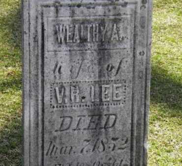 LEE, V.R. - Erie County, Ohio | V.R. LEE - Ohio Gravestone Photos