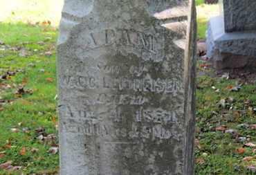 LEIDHEISER, ADAM - Erie County, Ohio   ADAM LEIDHEISER - Ohio Gravestone Photos