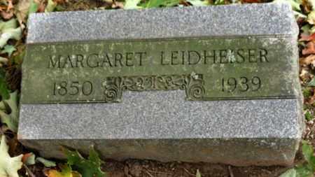 LEIDHEISER, MARGARET - Erie County, Ohio | MARGARET LEIDHEISER - Ohio Gravestone Photos