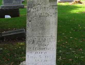 LEIDHEISER, WERNER - Erie County, Ohio | WERNER LEIDHEISER - Ohio Gravestone Photos