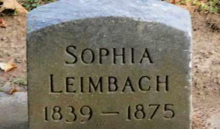 LEIMBACH, SOPHIA - Erie County, Ohio   SOPHIA LEIMBACH - Ohio Gravestone Photos