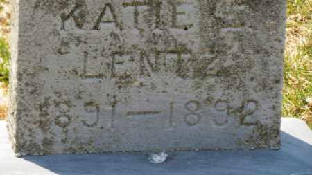 LENTZ, KATIE - Erie County, Ohio | KATIE LENTZ - Ohio Gravestone Photos