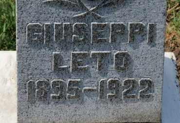 LETO, GIUSEPPI - Erie County, Ohio | GIUSEPPI LETO - Ohio Gravestone Photos
