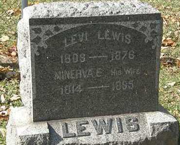 LEWIS, LEVI - Erie County, Ohio | LEVI LEWIS - Ohio Gravestone Photos