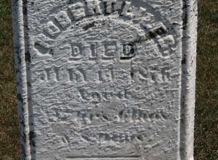 LILES, ROBERT - Erie County, Ohio | ROBERT LILES - Ohio Gravestone Photos