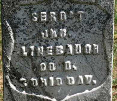 LINEBAUGH, JNO - Erie County, Ohio   JNO LINEBAUGH - Ohio Gravestone Photos